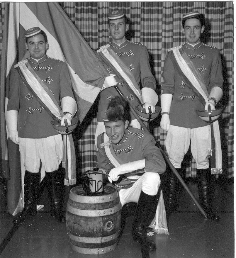 Gundoldinger Fahnenweihe 1959