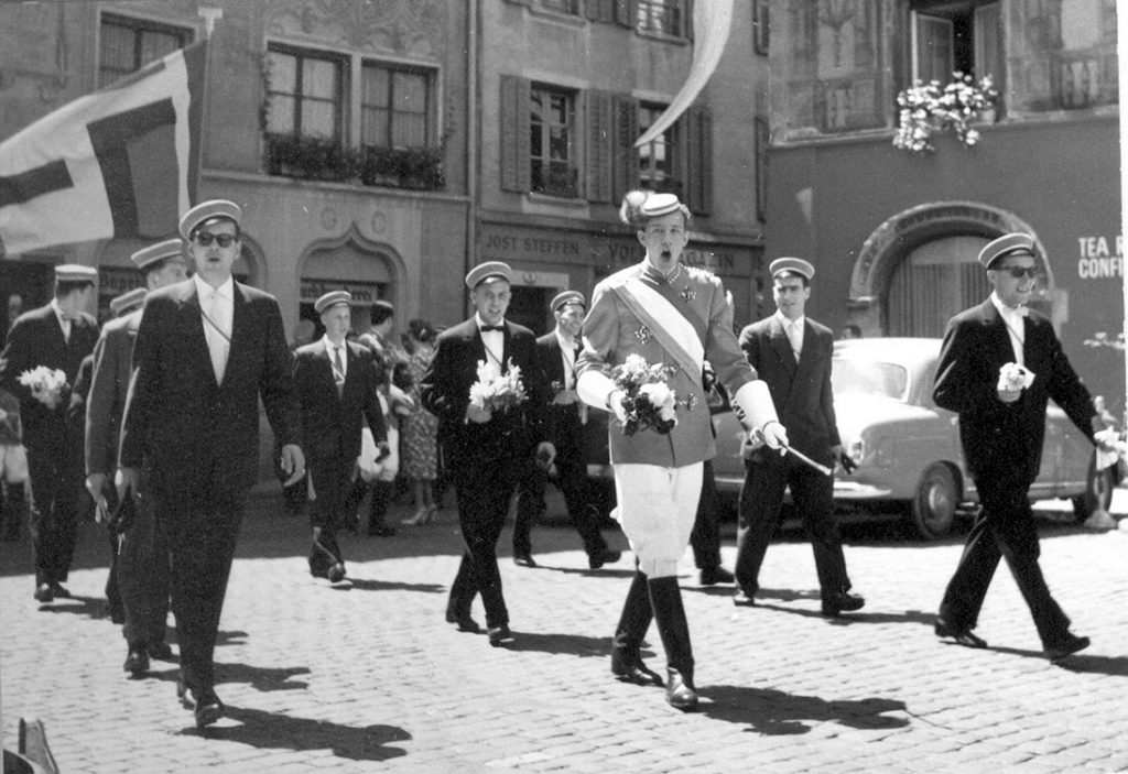 Cortège Luzern Fahnenweihe 1959 - Fuchsenstall