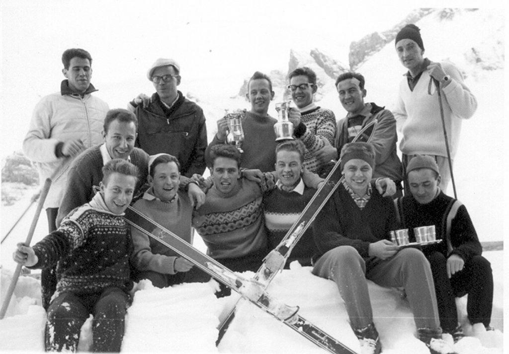 Erfolgreiche Skimeisterschaft 1960 auf Melchsee Frutt